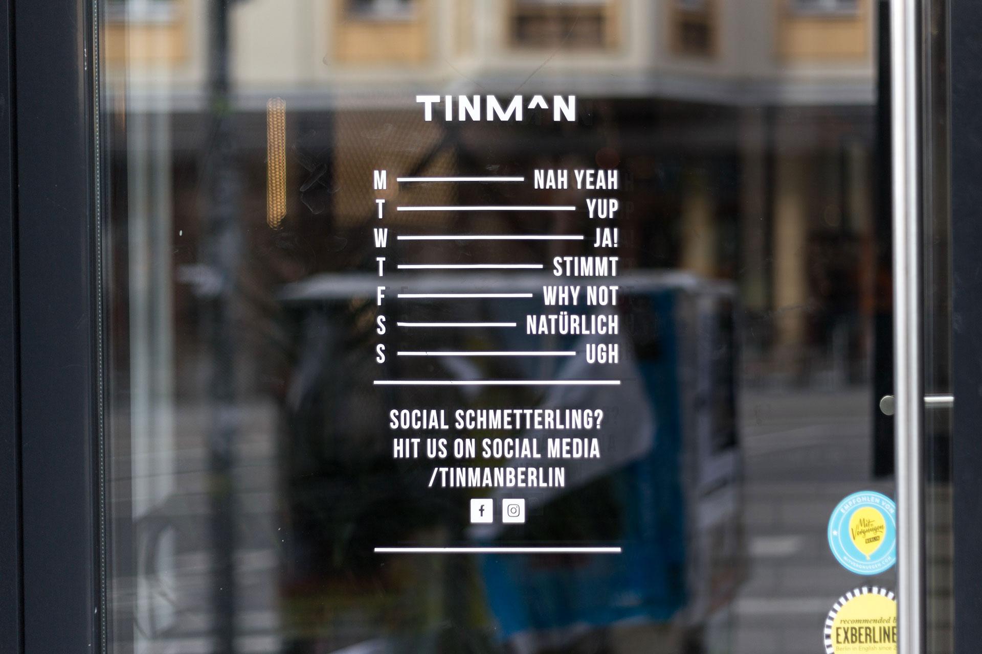 Tinman-Opening