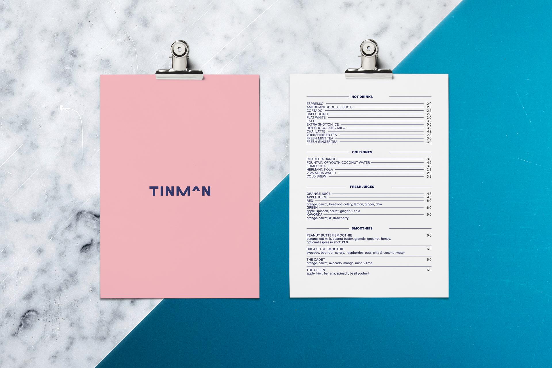 tinman-menu